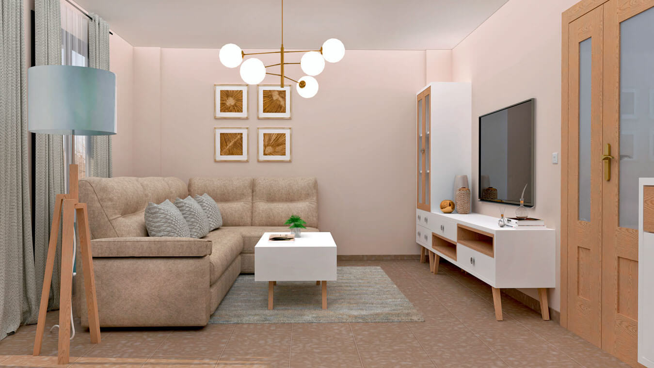 Salón modelo CELTA - Ref: 0529
