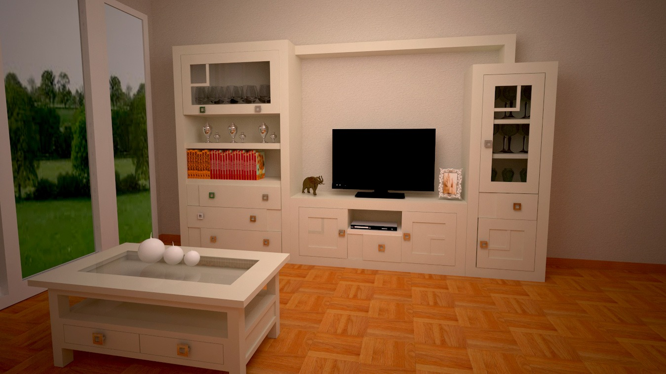 Salón modelo GRANITO REBAJES - Ref: 0113