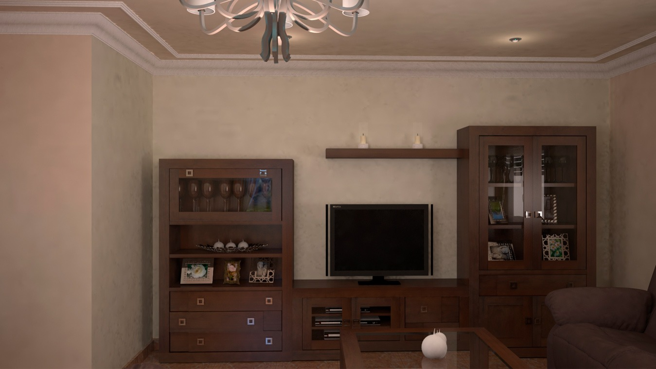 Salón modelo GRANITO REBAJES - Ref: 0105