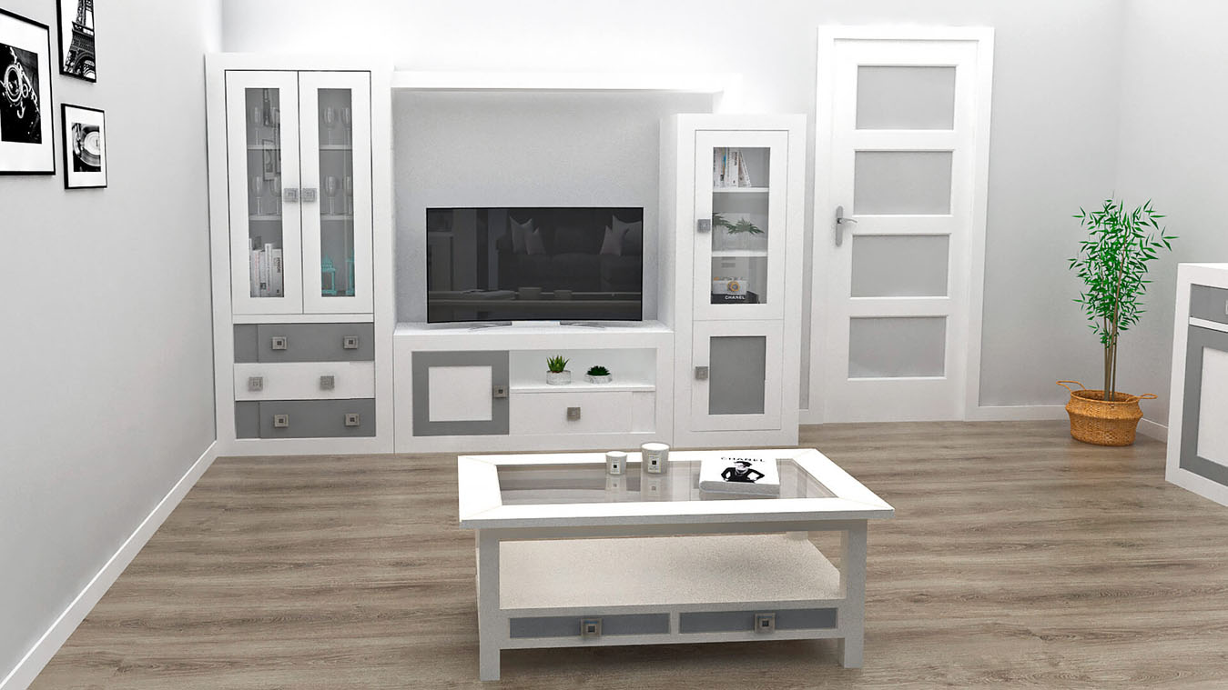 Salón modelo GRANITO REBAJES - Ref: 0119