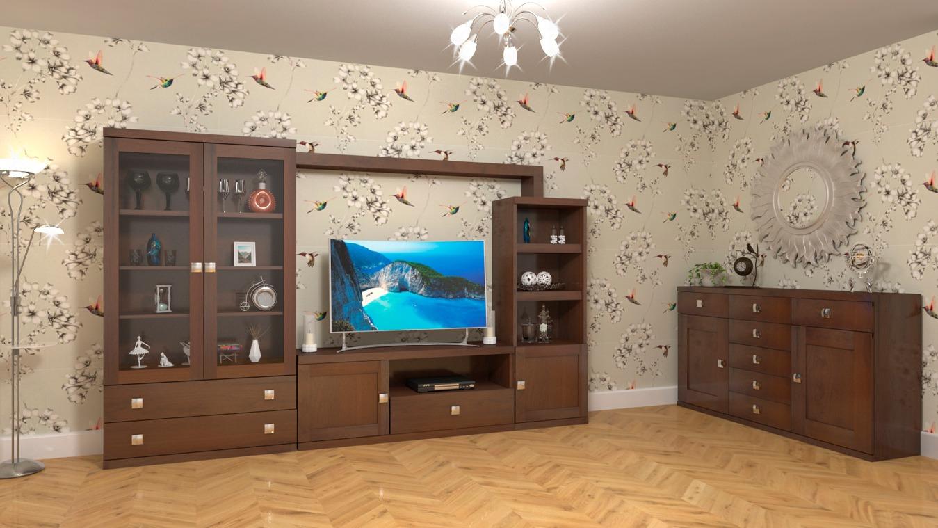 Salón modelo GRANITO SOLAPADO - Ref: 0301