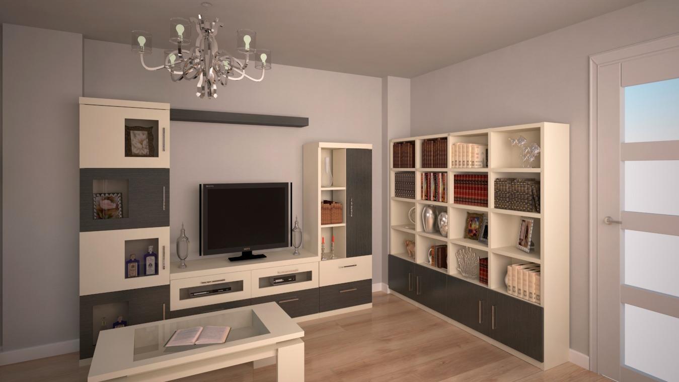 Salón modelo GRANITO SOLAPADO - Ref: 0303