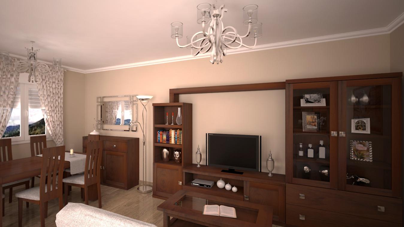 Salón modelo GRANITO SOLAPADO - Ref: 0308