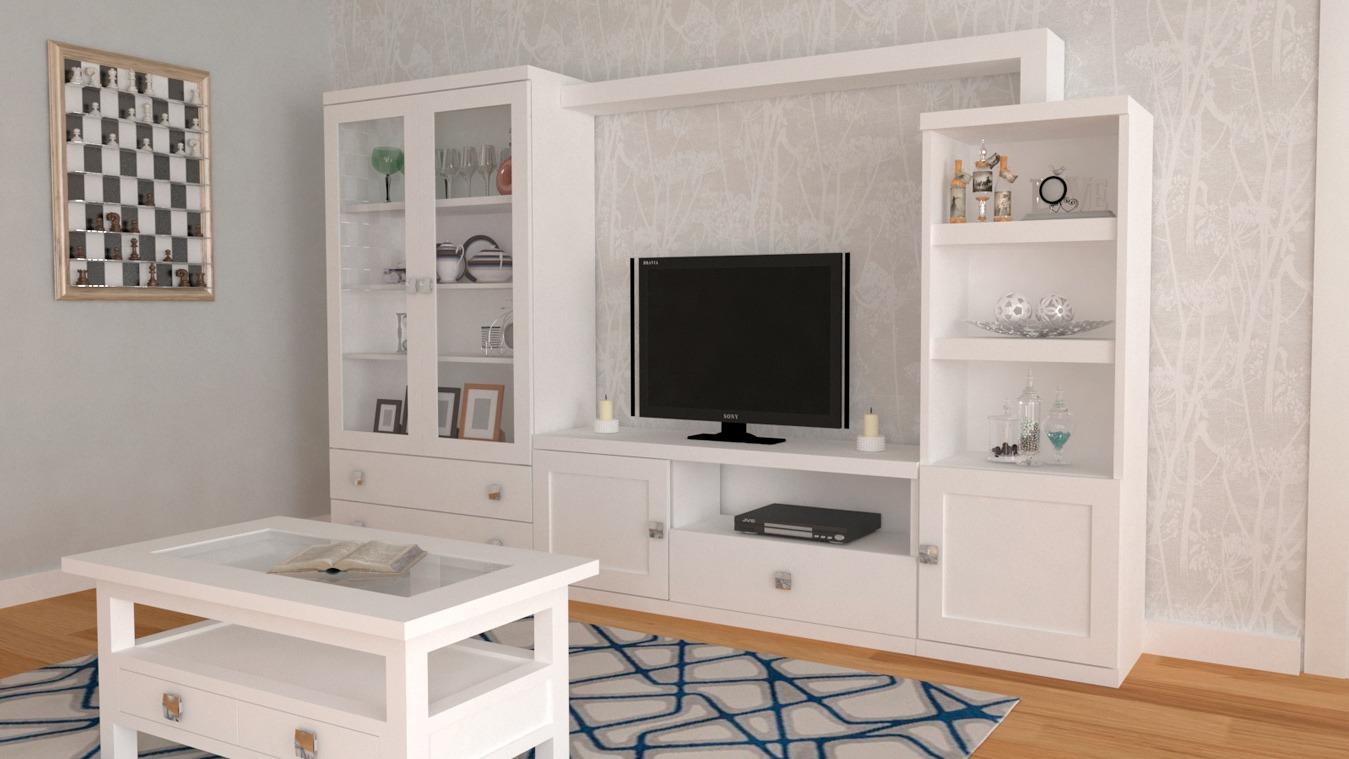 Salón modelo GRANITO SOLAPADO - Ref: 0310