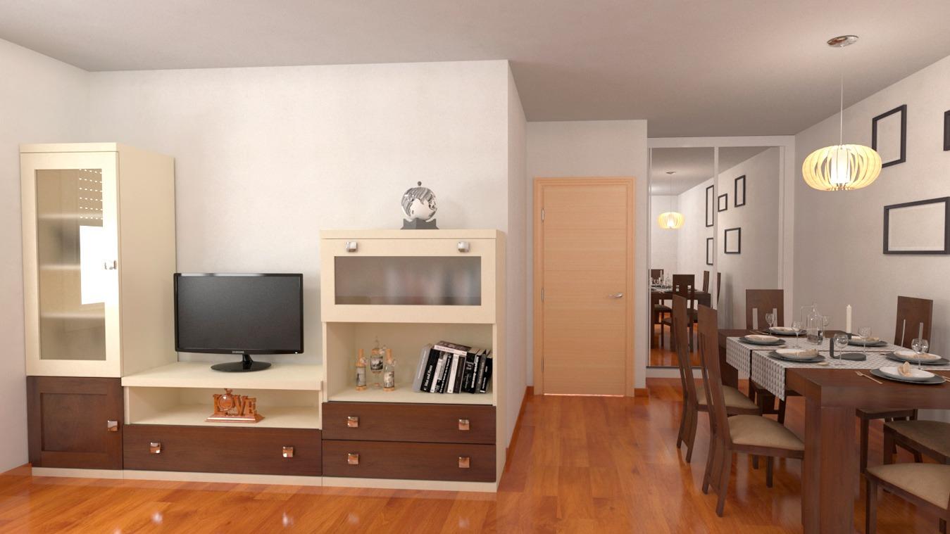 Salón modelo GRANITO SOLAPADO - Ref: 0311