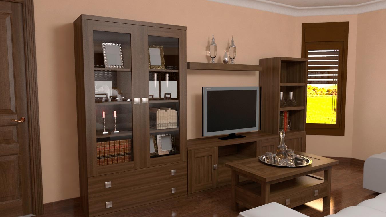 Salón modelo GRANITO SOLAPADO - Ref: 0312