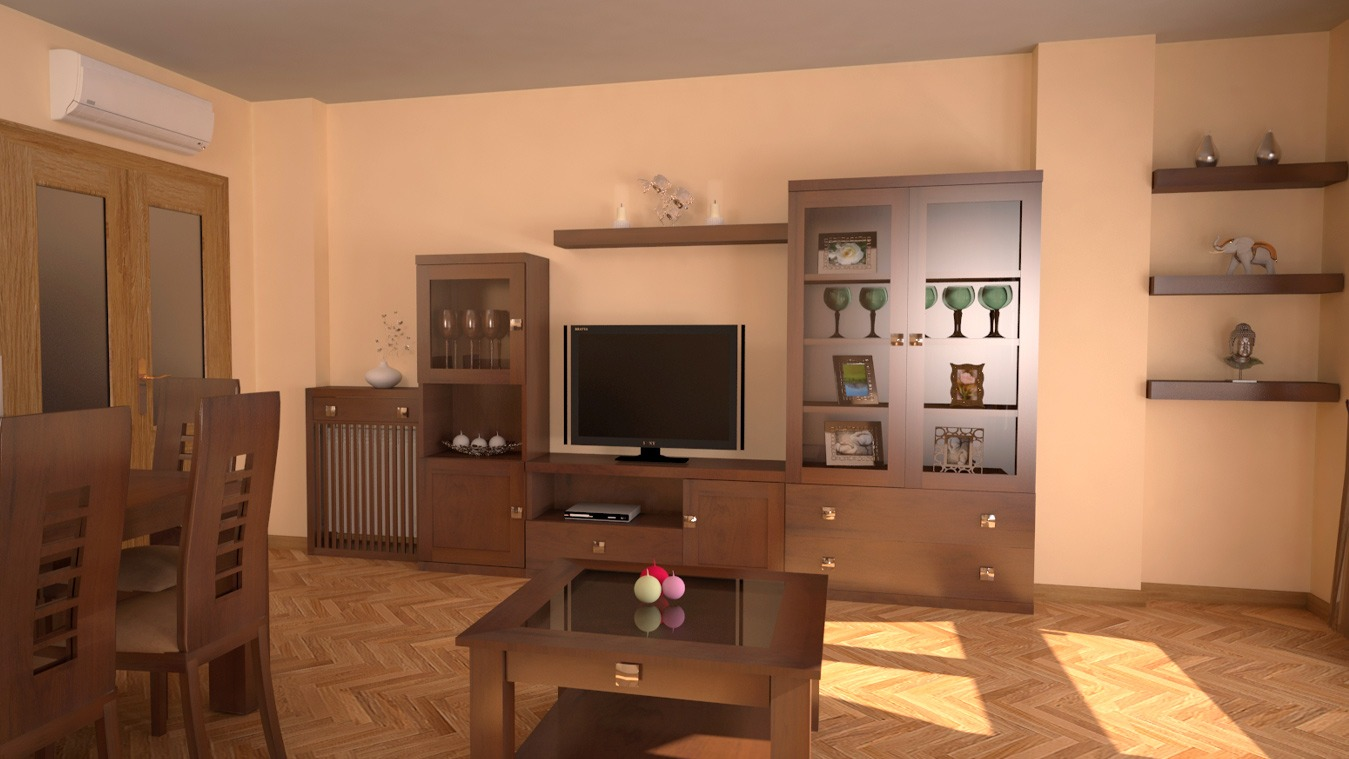 Salón modelo GRANITO SOLAPADO - Ref: 0313