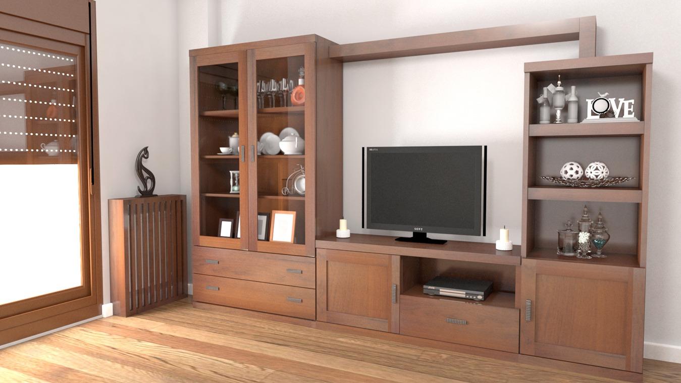 Salón modelo GRANITO SOLAPADO - Ref: 0317