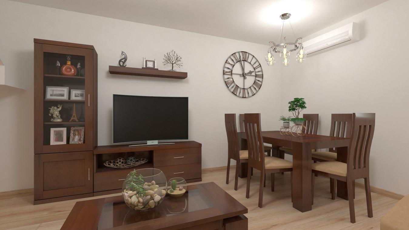 Salón modelo GRANITO SOLAPADO - Ref: 0318