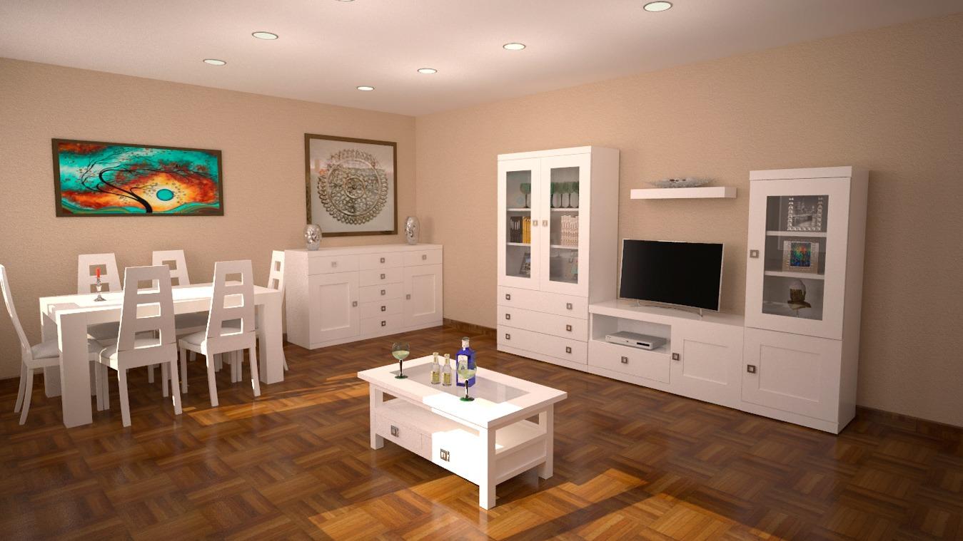 Salón modelo GRANITO SOLAPADO - Ref: 0319