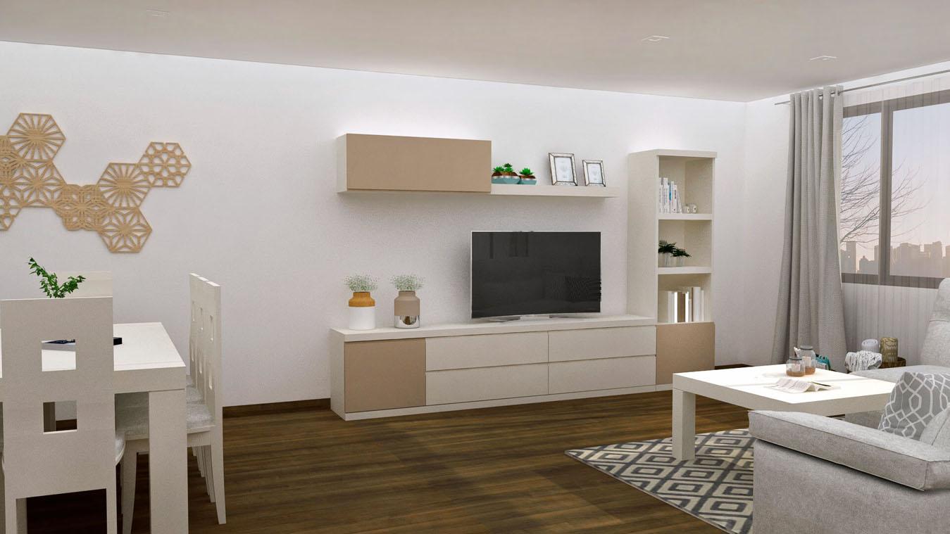 Salón modelo GRANITO SOLAPADO - Ref: 0323