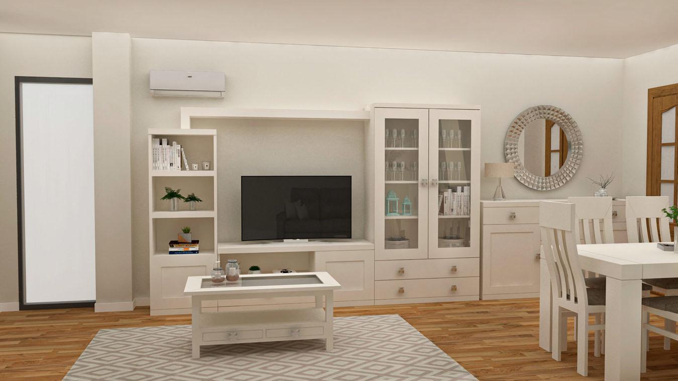 Salón modelo GRANITO SOLAPADO - Ref: 0331