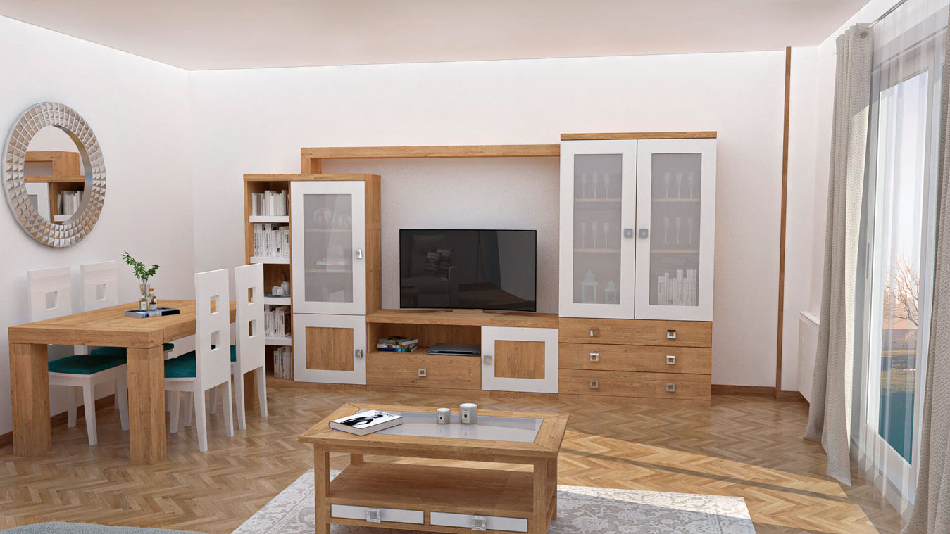Salón modelo GRANITO SOLAPADO - Ref: 0332