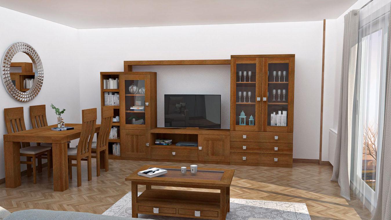 Salón modelo GRANITO SOLAPADO - Ref: 0333