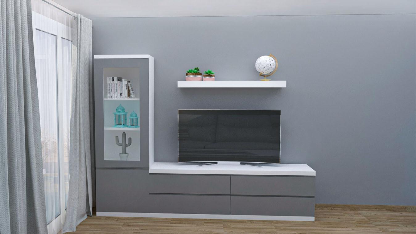 Salón modelo GRANITO SOLAPADO - Ref: 0334