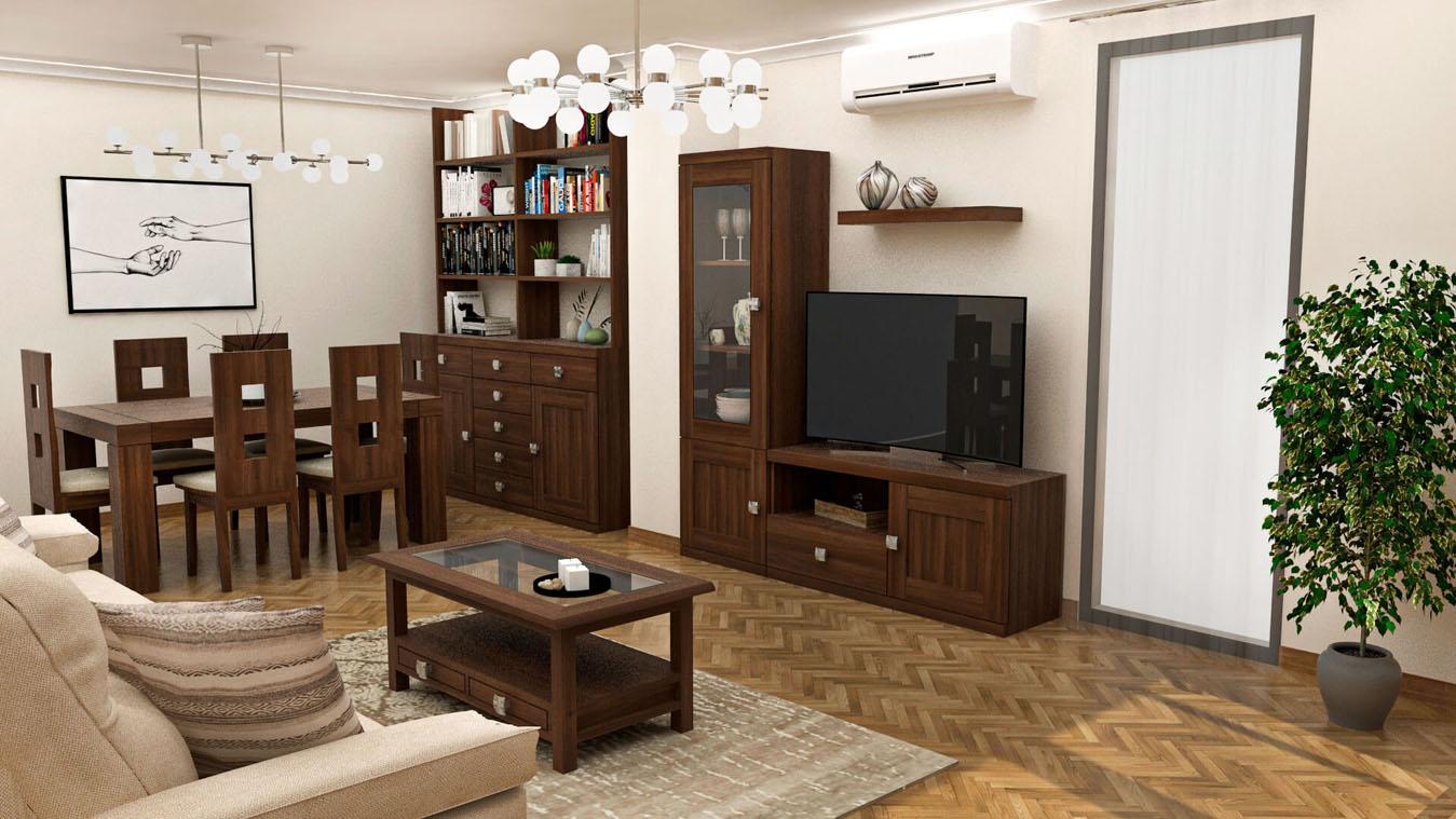 Salón modelo GRANITO SOLAPADO - Ref: 0337