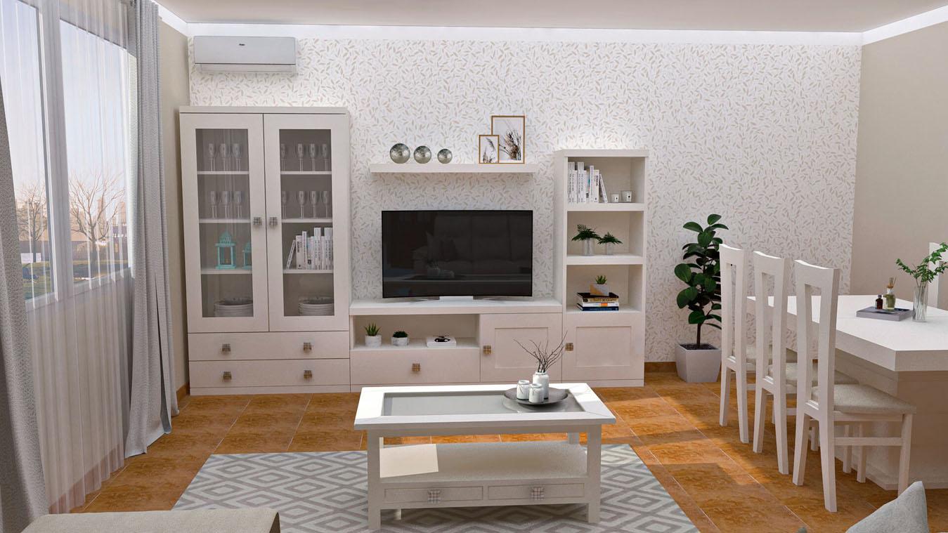 Salón modelo GRANITO SOLAPADO - Ref: 0339