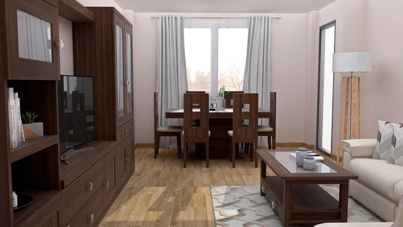 Salón modelo GRANITO SOLAPADO - Ref: 0341