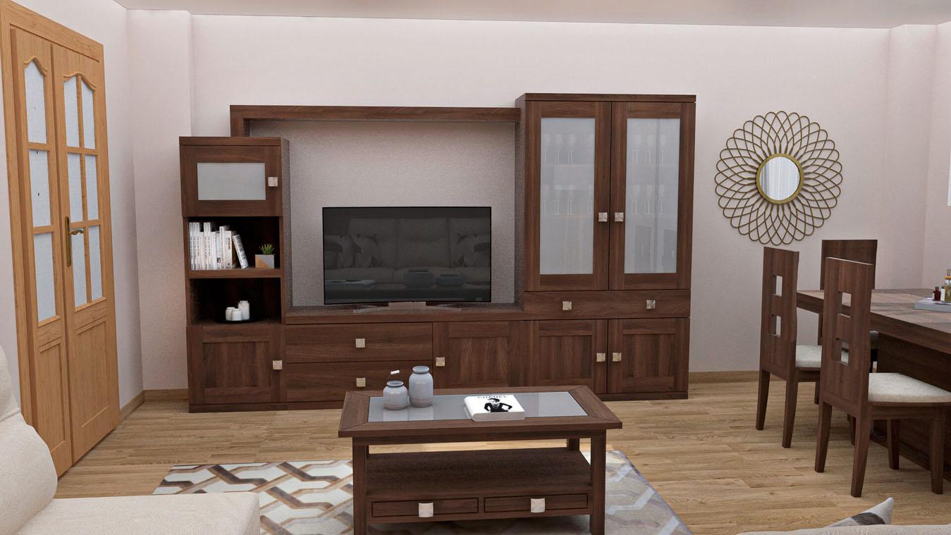 Salón modelo GRANITO SOLAPADO - Ref: 0342