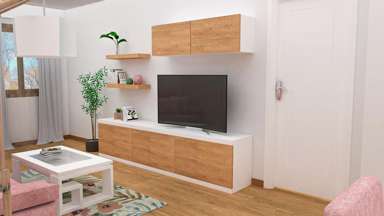 Salón modelo GRANITO SOLAPADO - Ref: 0344