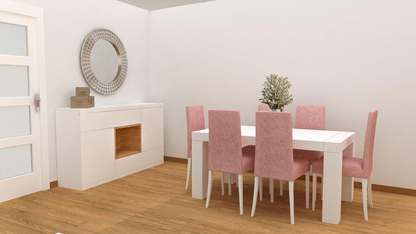 Salón modelo GRANITO SOLAPADO - Ref: 0345