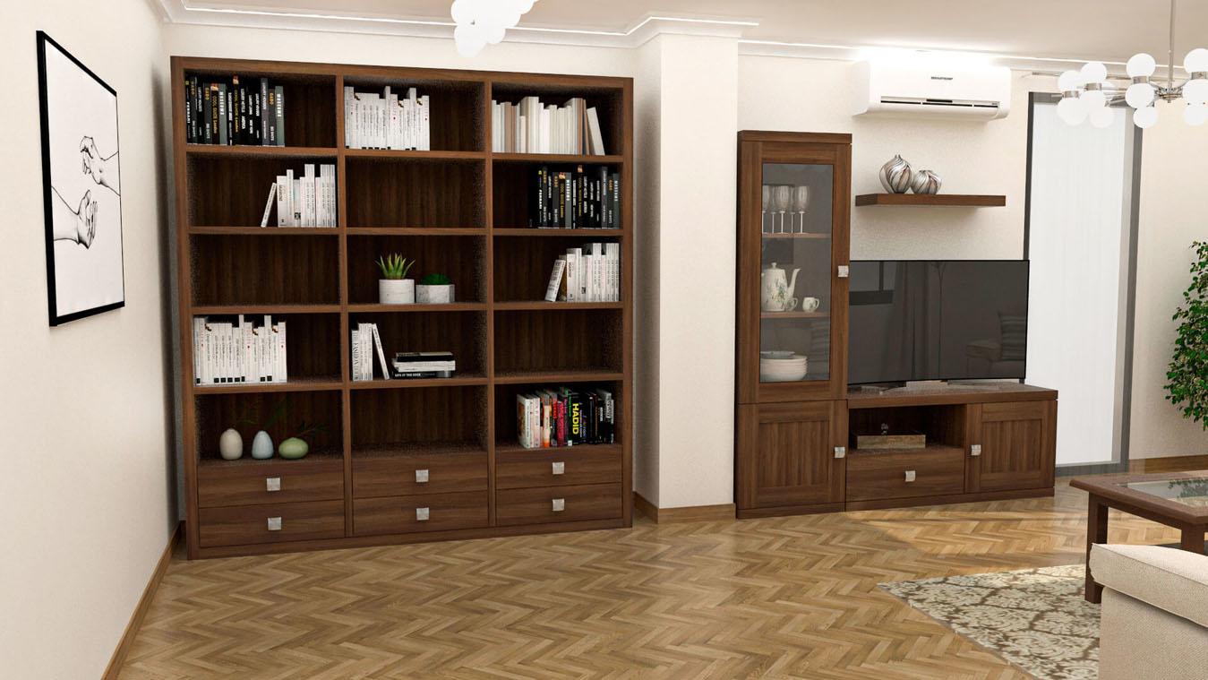 Salón modelo GRANITO SOLAPADO - Ref: 0346