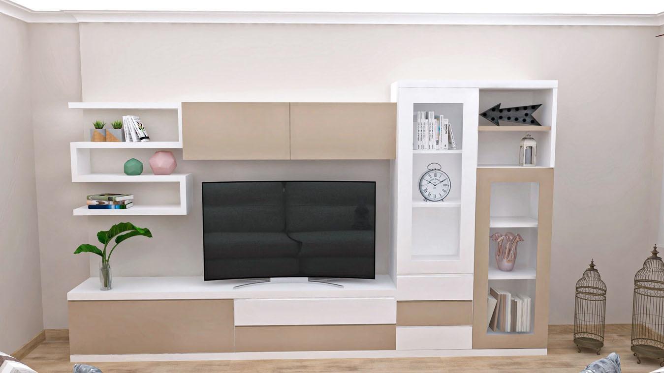 Salón modelo GRANITO SOLAPADO - Ref: 0347