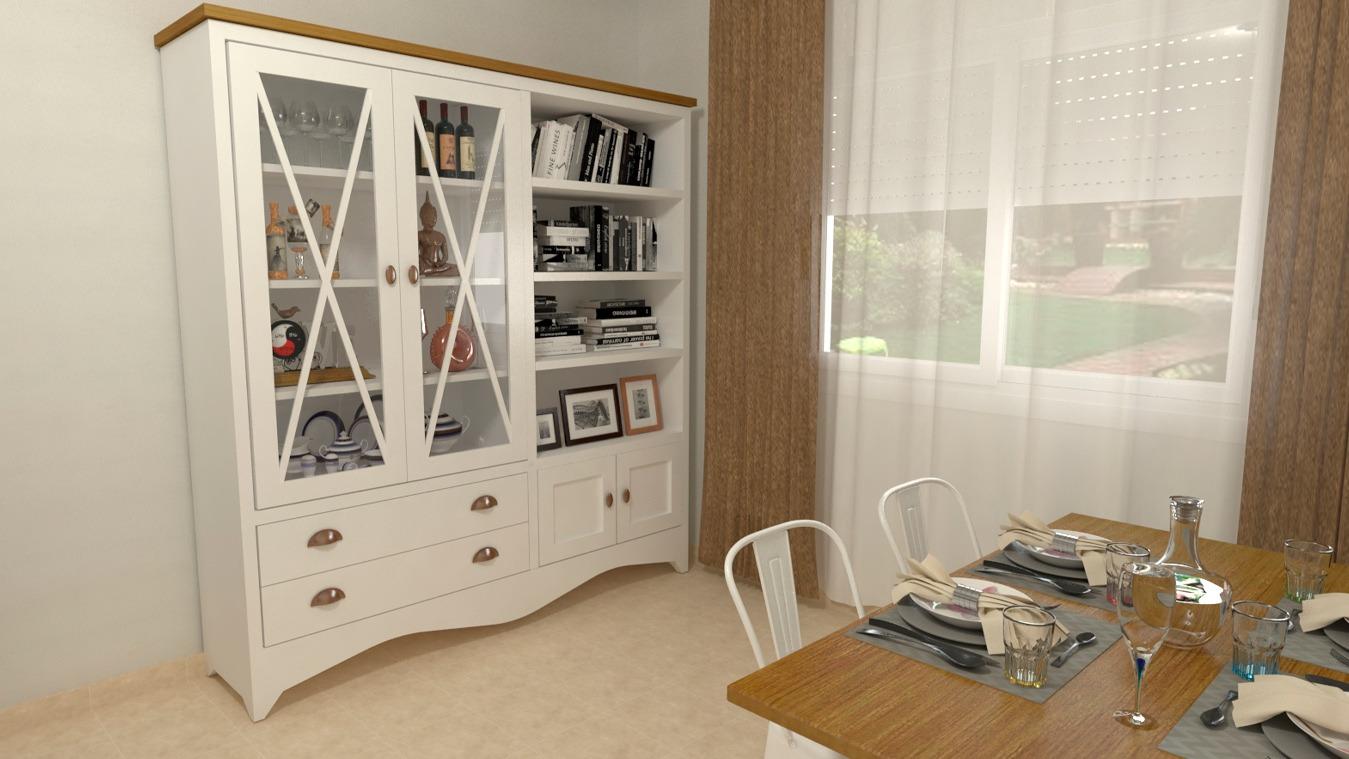 Salón modelo ISABELLA - Ref: 0414