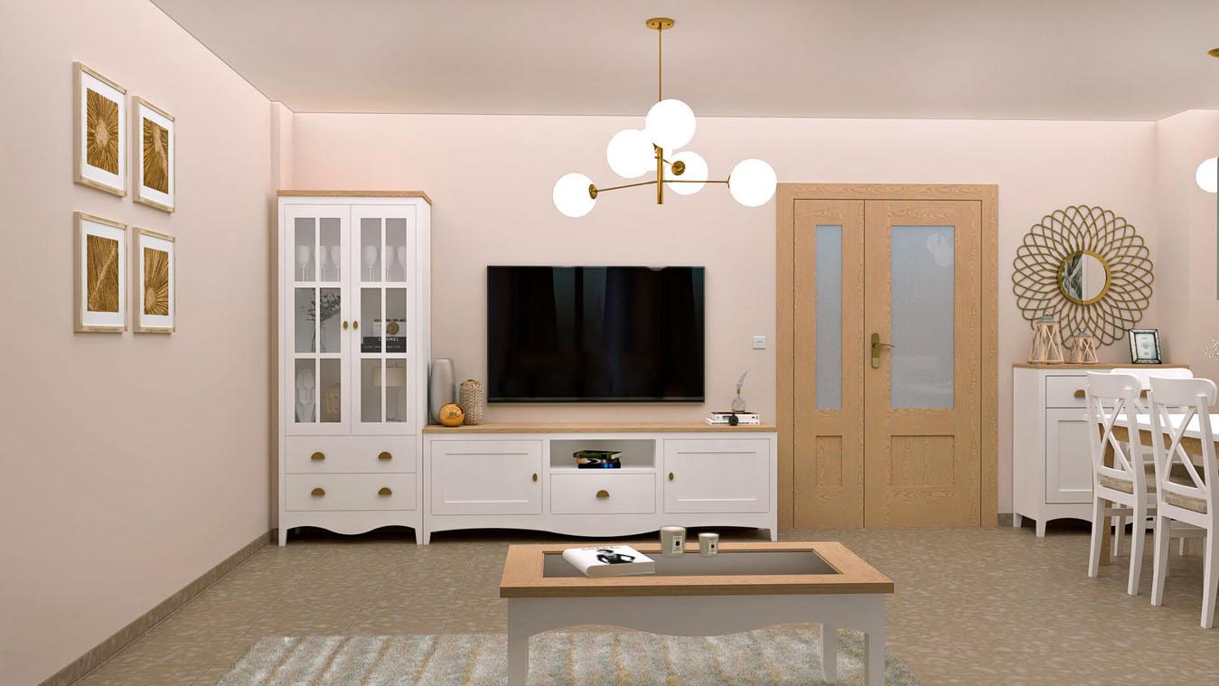 Salón modelo ISABELLA - Ref: 0419