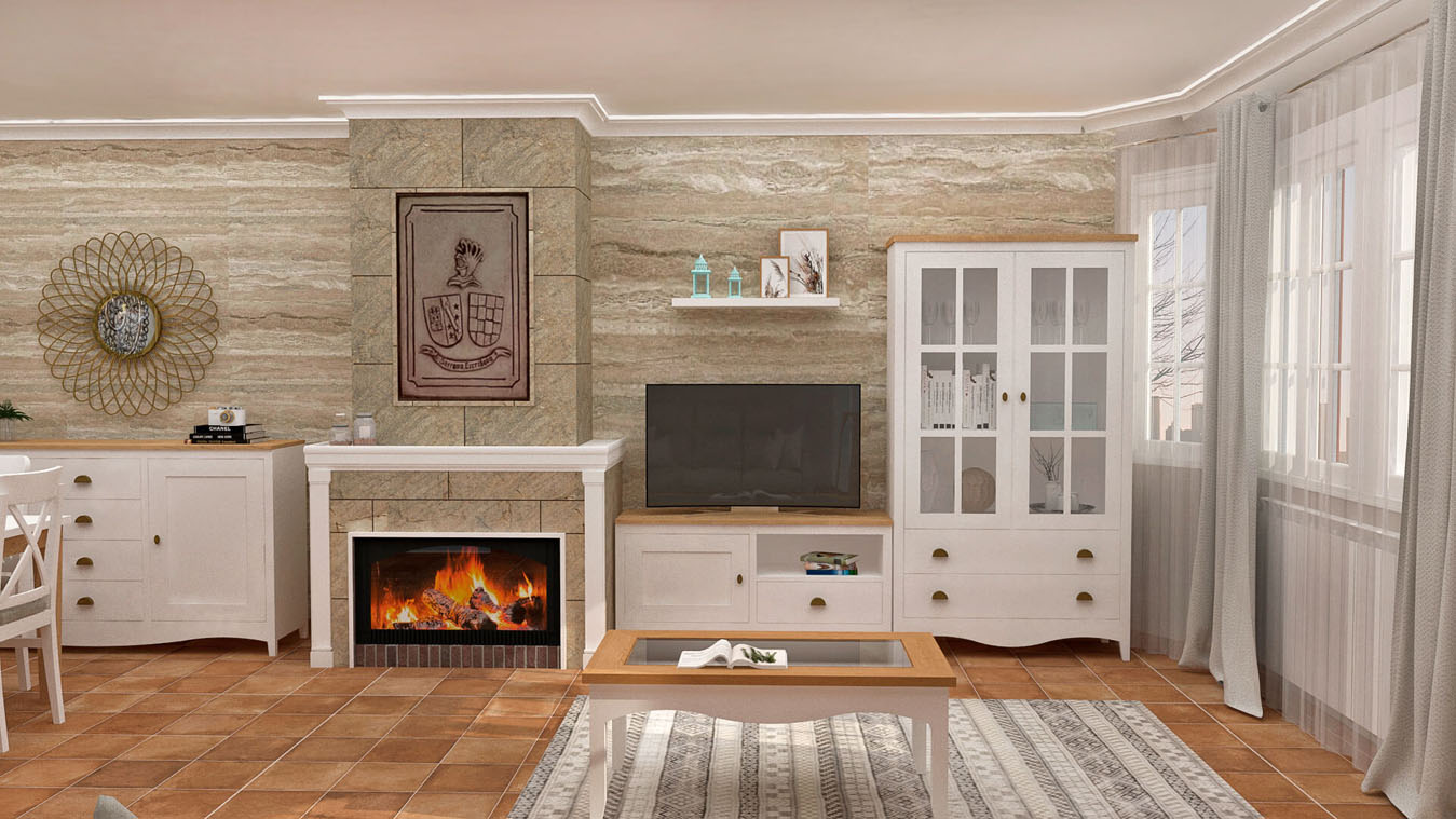 Salón modelo ISABELLA - Ref: 0420