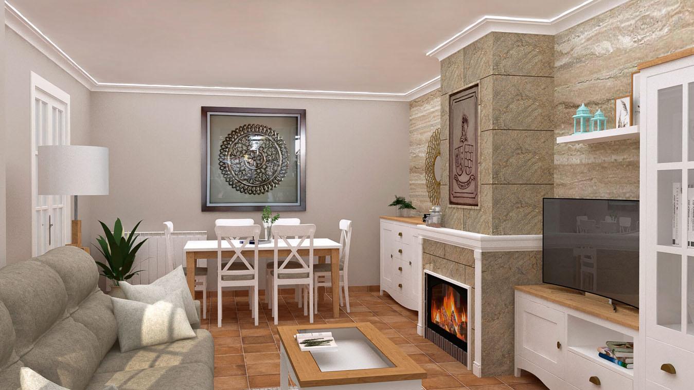 Salón modelo ISABELLA - Ref: 0421