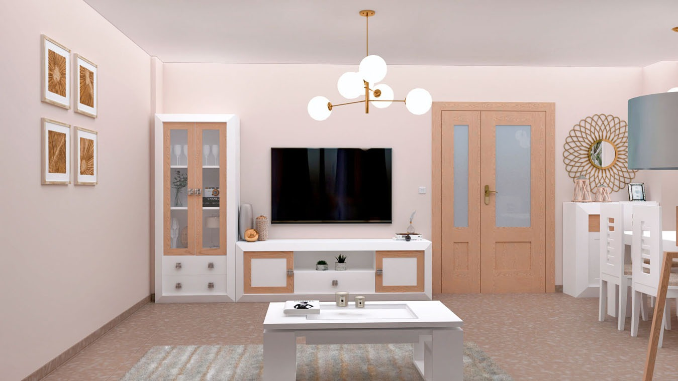 Salón modelo BRUNO - Ref: 0727