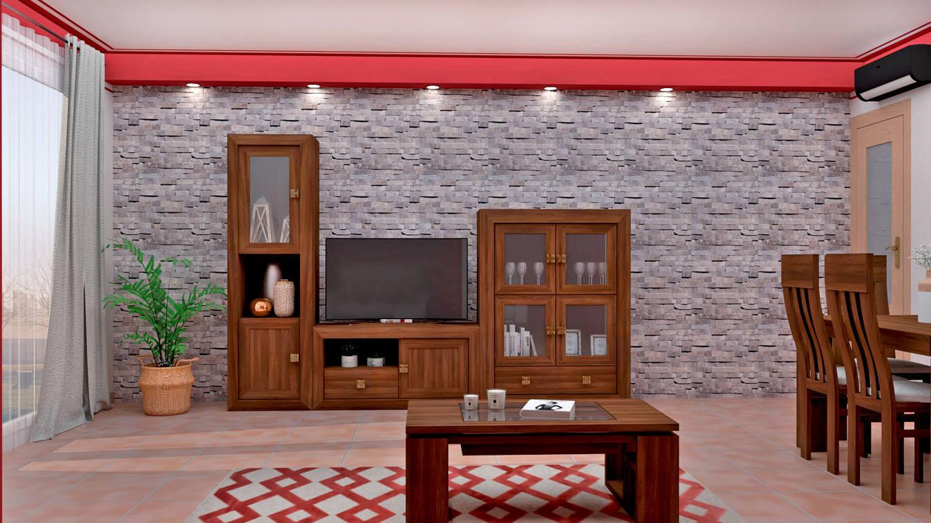 Salón modelo BRUNO - Ref: 0732