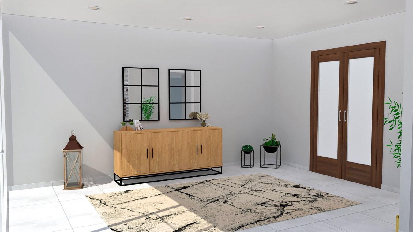 Salón modelo INDUSTRIAL - Ref: 0004