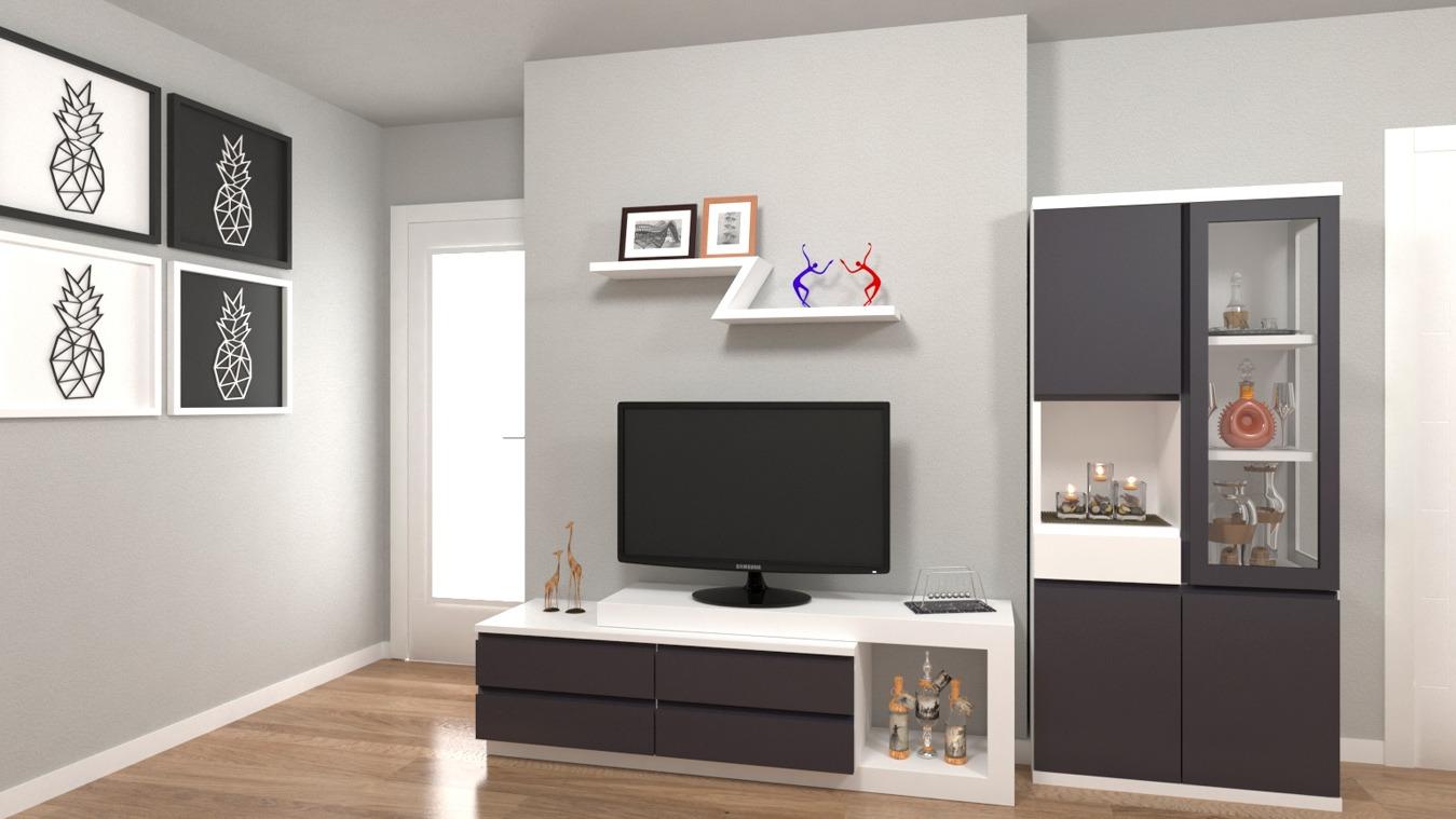 Salón modelo MODERNO - Ref: 0804