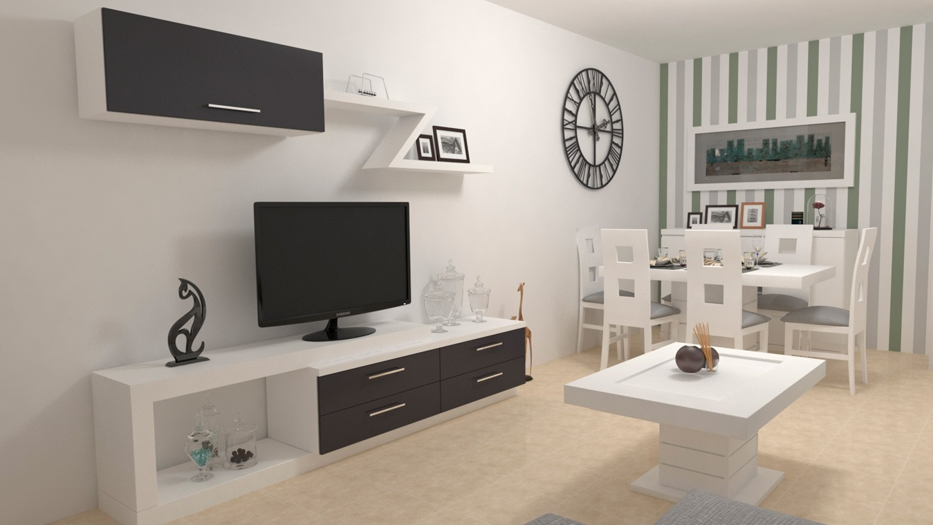 Salón modelo MODERNO - Ref: 0824