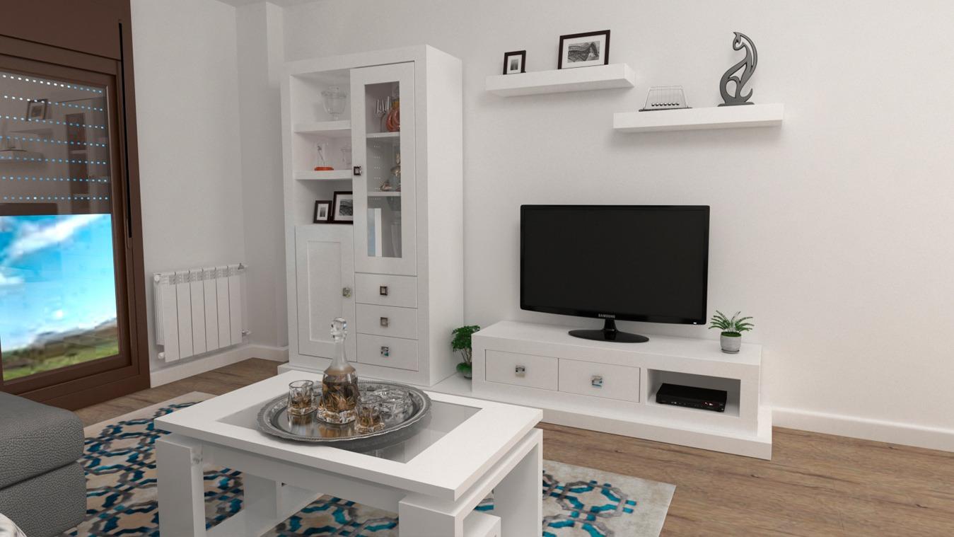 Salón modelo MODERNO - Ref: 0836