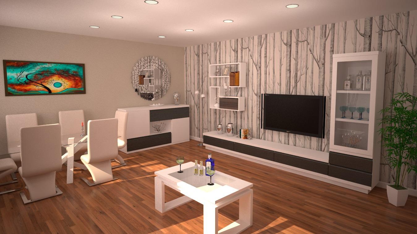Salón modelo MODERNO - Ref: 0838