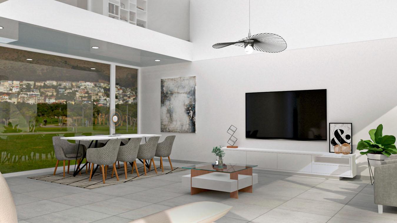 Salón modelo MODERNO - Ref: 0839