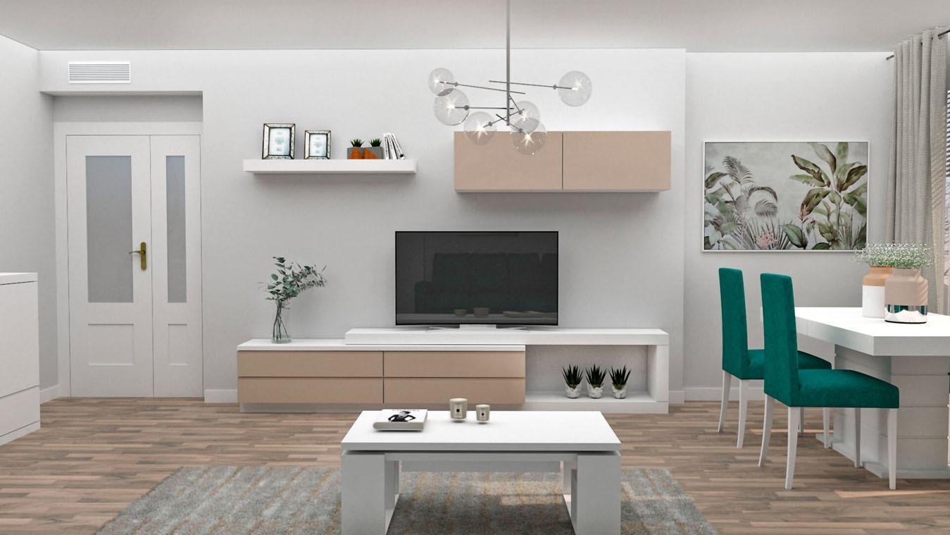 Salón modelo MODERNO - Ref: 0843