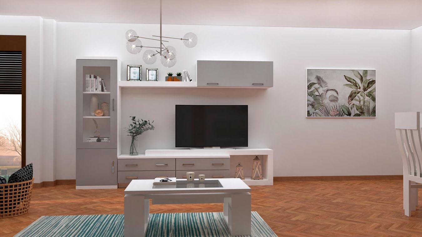 Salón modelo MODERNO - Ref: 0846