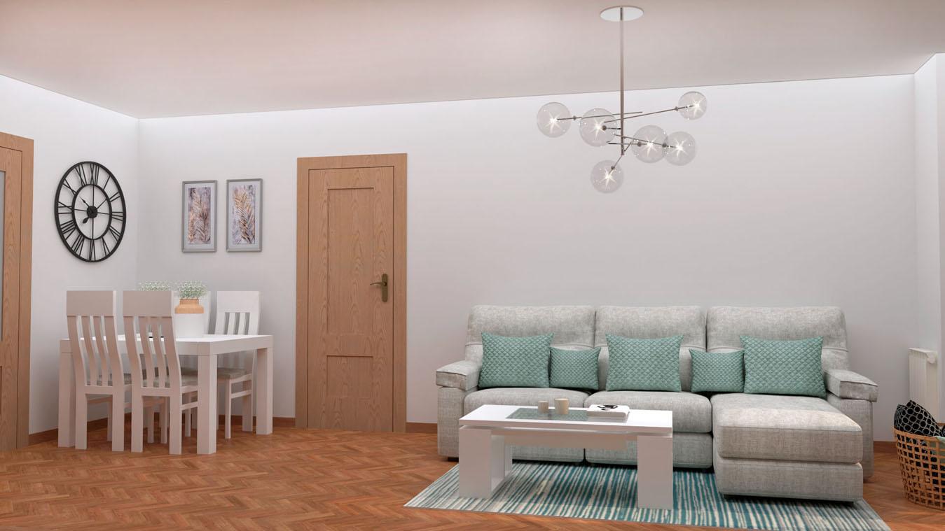 Salón modelo MODERNO - Ref: 0847