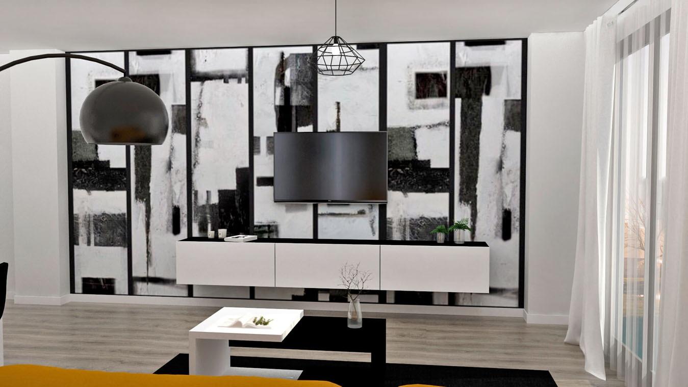 Salón modelo MODERNO - Ref: 0848