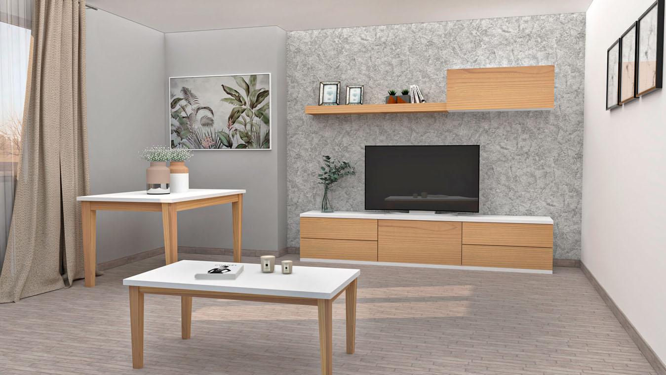 Salón modelo MODERNO - Ref: 0852