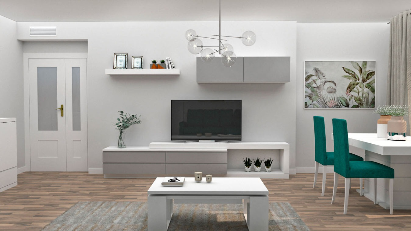 Salón modelo MODERNO - Ref: 0853