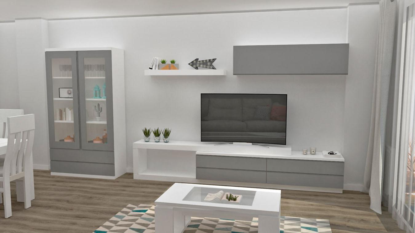 Salón modelo MODERNO - Ref: 0856