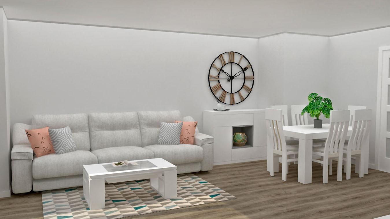 Salón modelo MODERNO - Ref: 0857