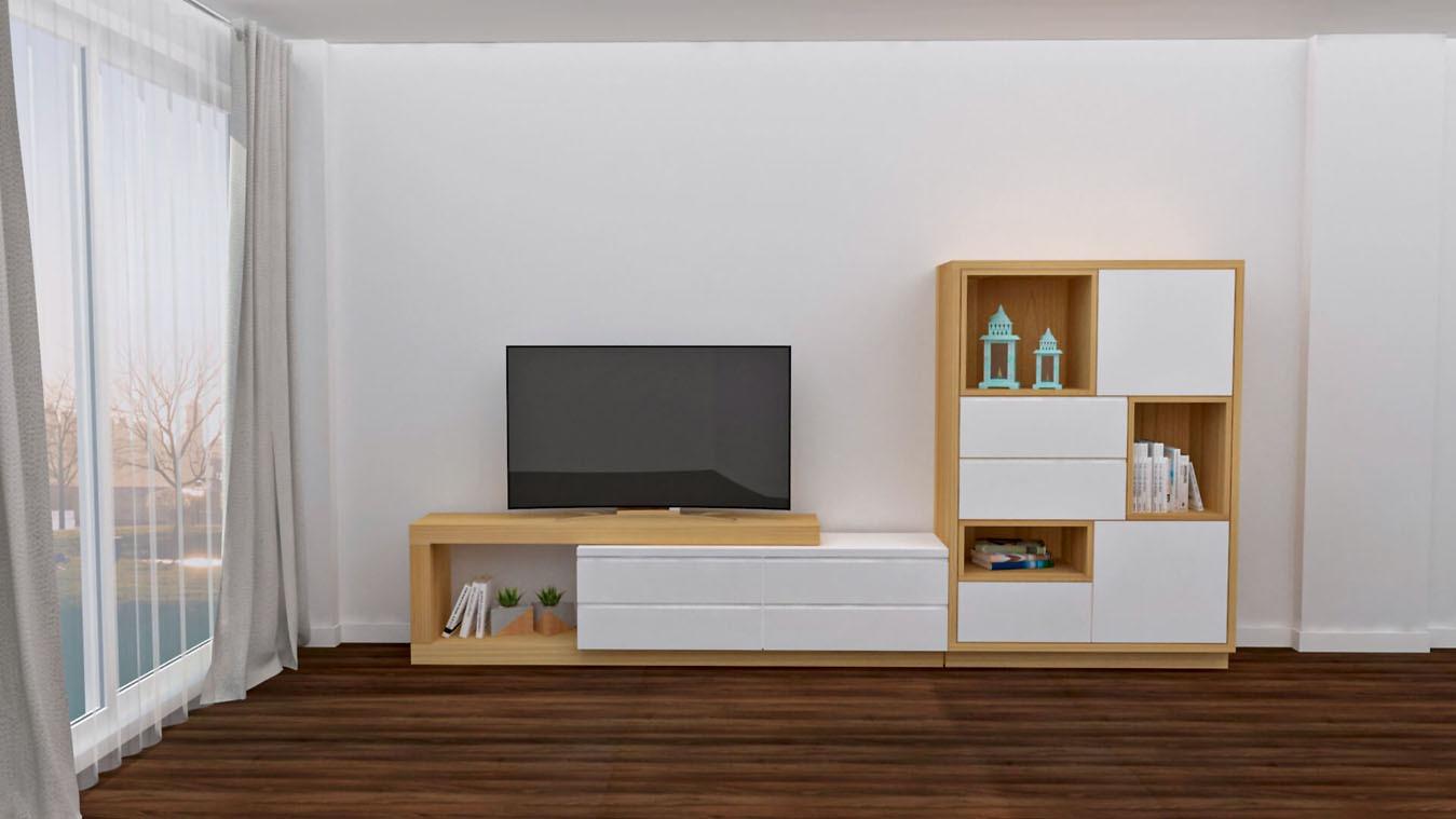 Salón modelo MODERNO - Ref: 0861