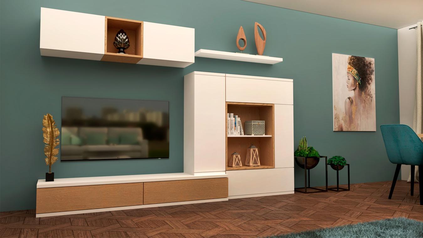 Salón modelo MODERNO - Ref: 0872