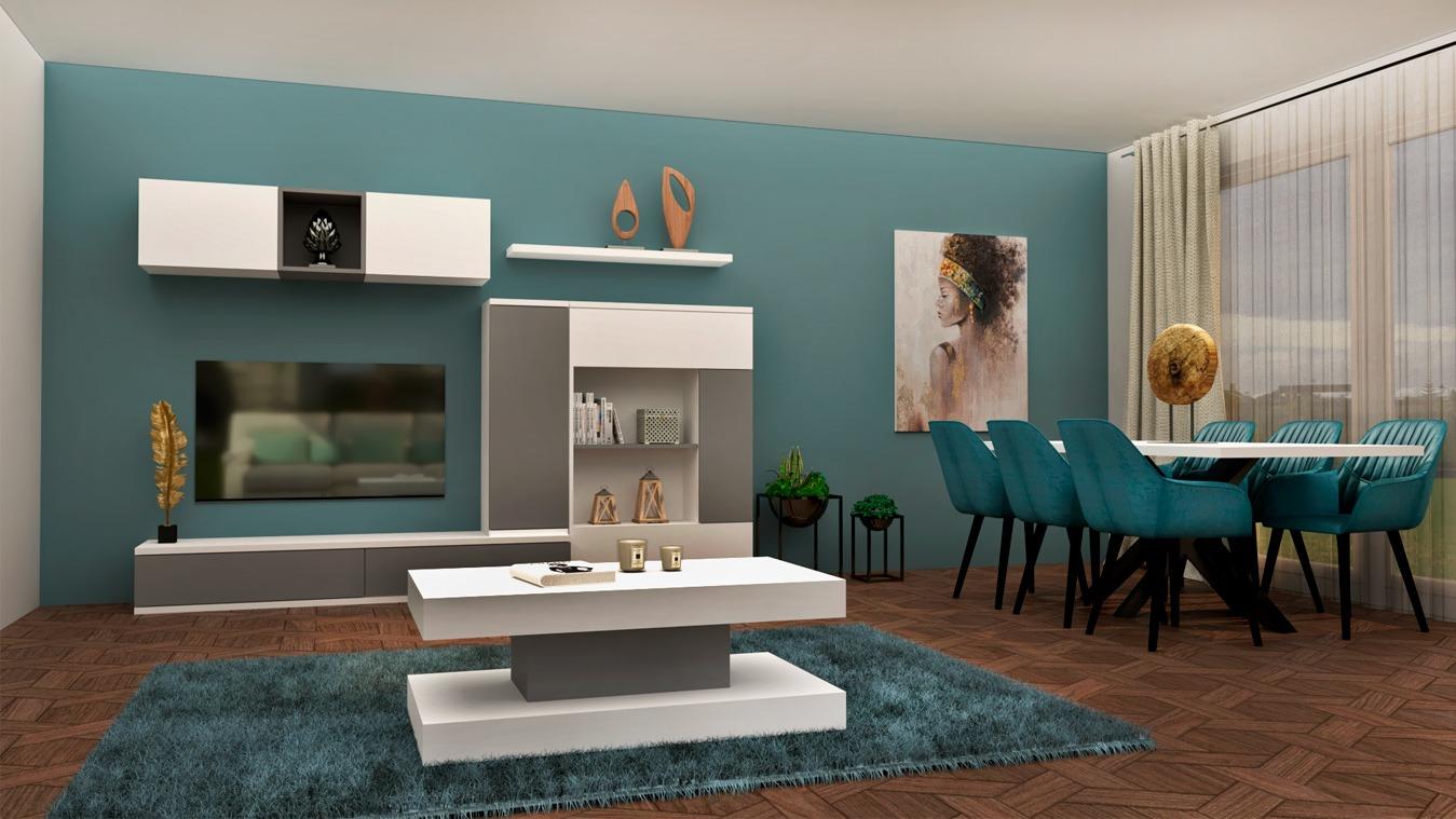 Salón modelo MODERNO - Ref: 0874